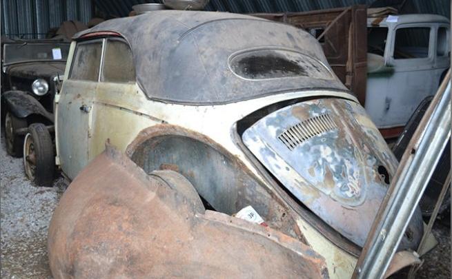 Mundo: carros raros são encontrados abandonados em celeiro nos Estados Unidos