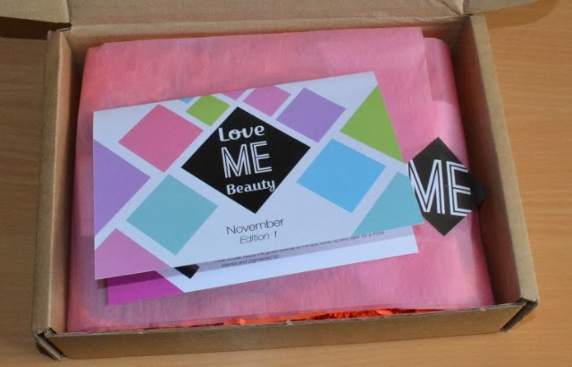 Love me beauty box, Love me beauty November 2013