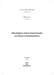 d585eb82fc Livro Abordagens sobre improvisação em dança contemporânea ...