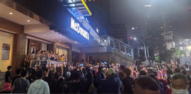 Bila Mengikuti Pergub, Kerumunan di McDonald's Sarinah Harusnya Dikenai Denda