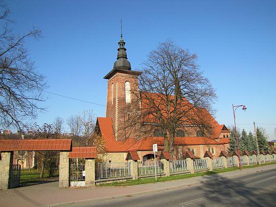 Kościół św. Jana Chrzciciela w Lubniu.