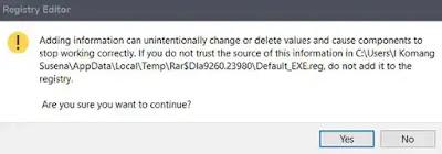 Cara Mengatasi File Exe yang Dibuka dengan Program Lain