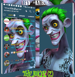 Joker 2 Theme For YOWhatsApp & Fouad WhatsApp By ABM