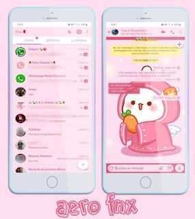 Snow Man Theme For YOWhatsApp & Aero WhatsApp By Ave fénix