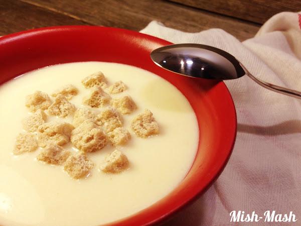 Супа с кисело мляко