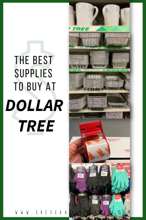 A list of the Best Supplies to Buy at Dollar Tree