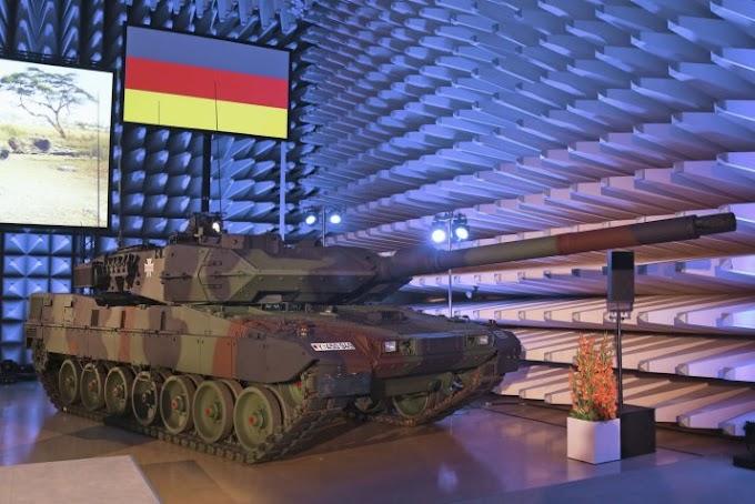 Παράδοση του πρώτου αναβαθμισμένου Leo-2A7V στον Γερμανικό Στρατό.