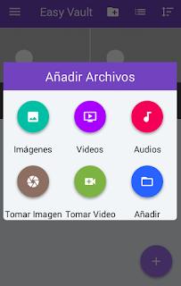 como ocultar audios y videos en android