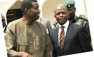 I knew Osinbajo's chopper would crash but i kept it scret - Pastor Adeboye