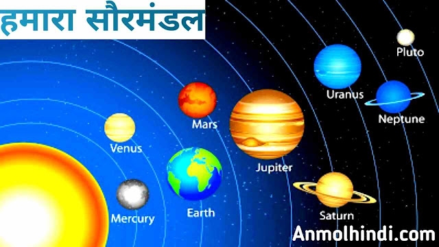 About solar system in Hindi, Saurmandal kya hai, what is solar system