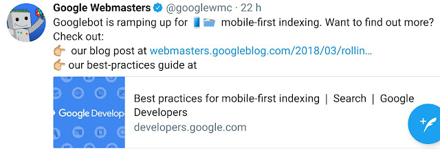 Google passe au Mobile First Index, comment le reconnaître ? #seo #mfi