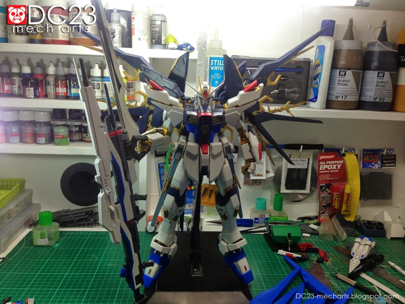 Perfect Grade Strike Freedom BFG WIPphoto