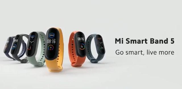 Xiaomi MI Band  5 Resmi Dirilis, Akan Dijual Secara Global