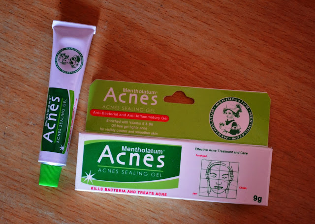 Mentholatum Acnes Sealing Gel Review, Pictures and Swatches