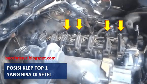 diesel menggunakan valve train yang masih menggunakan penyetelan manual Cara menyetel klep mobil L300 diesel