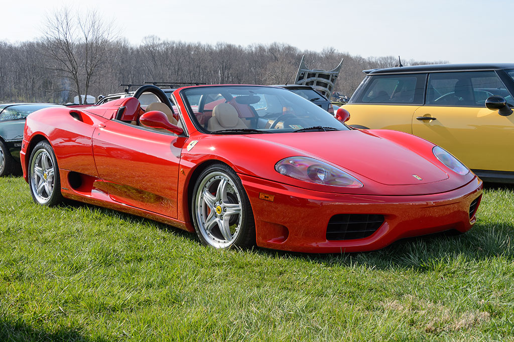 Ferrari at Summit Point Cars and Coffee