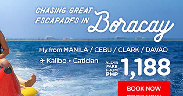 Search Cheap Flight to Boracay