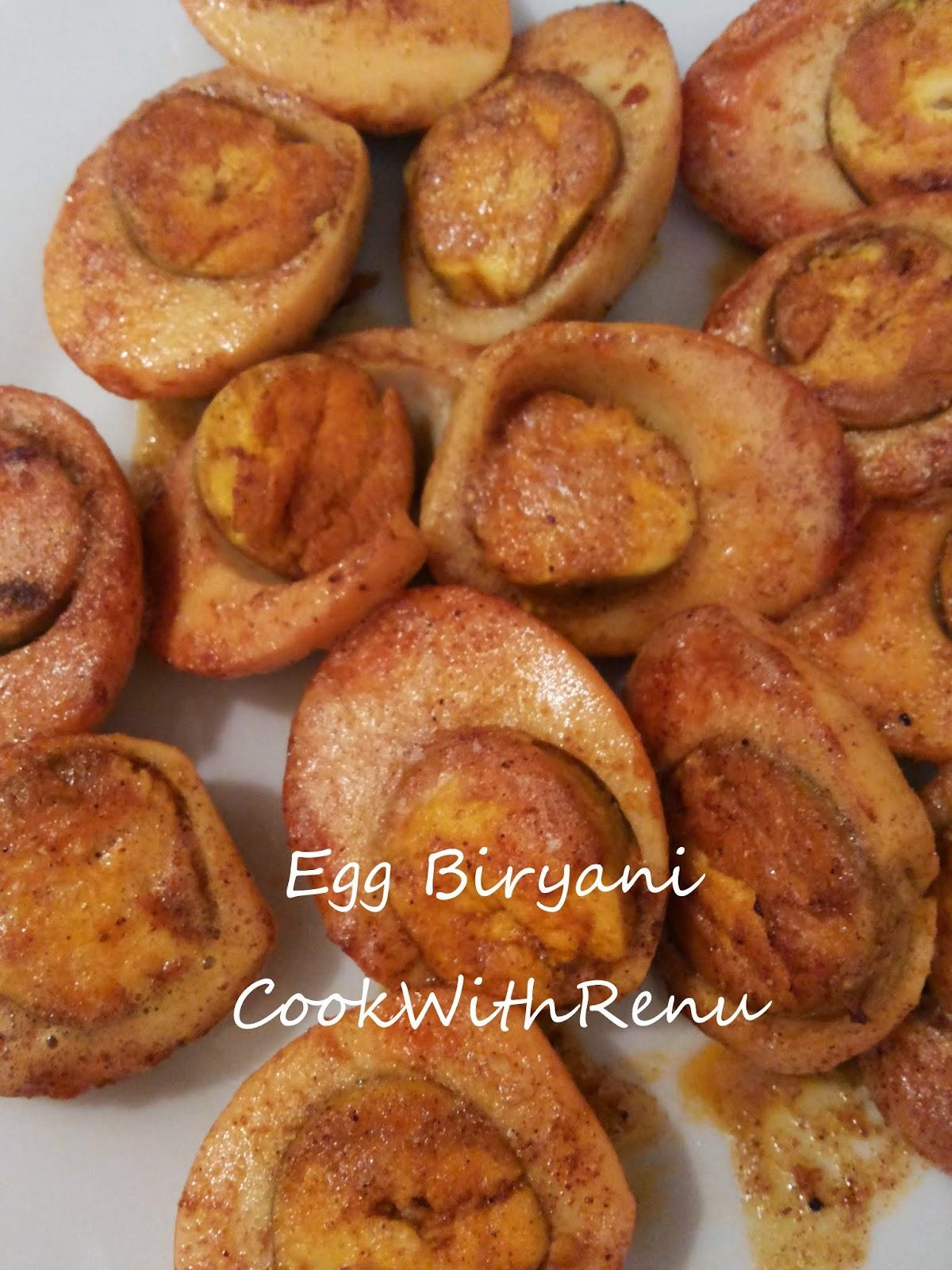 how to cook egg biryani