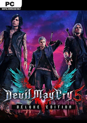 Capa do Devil May Cry 5 - Deluxe Edition