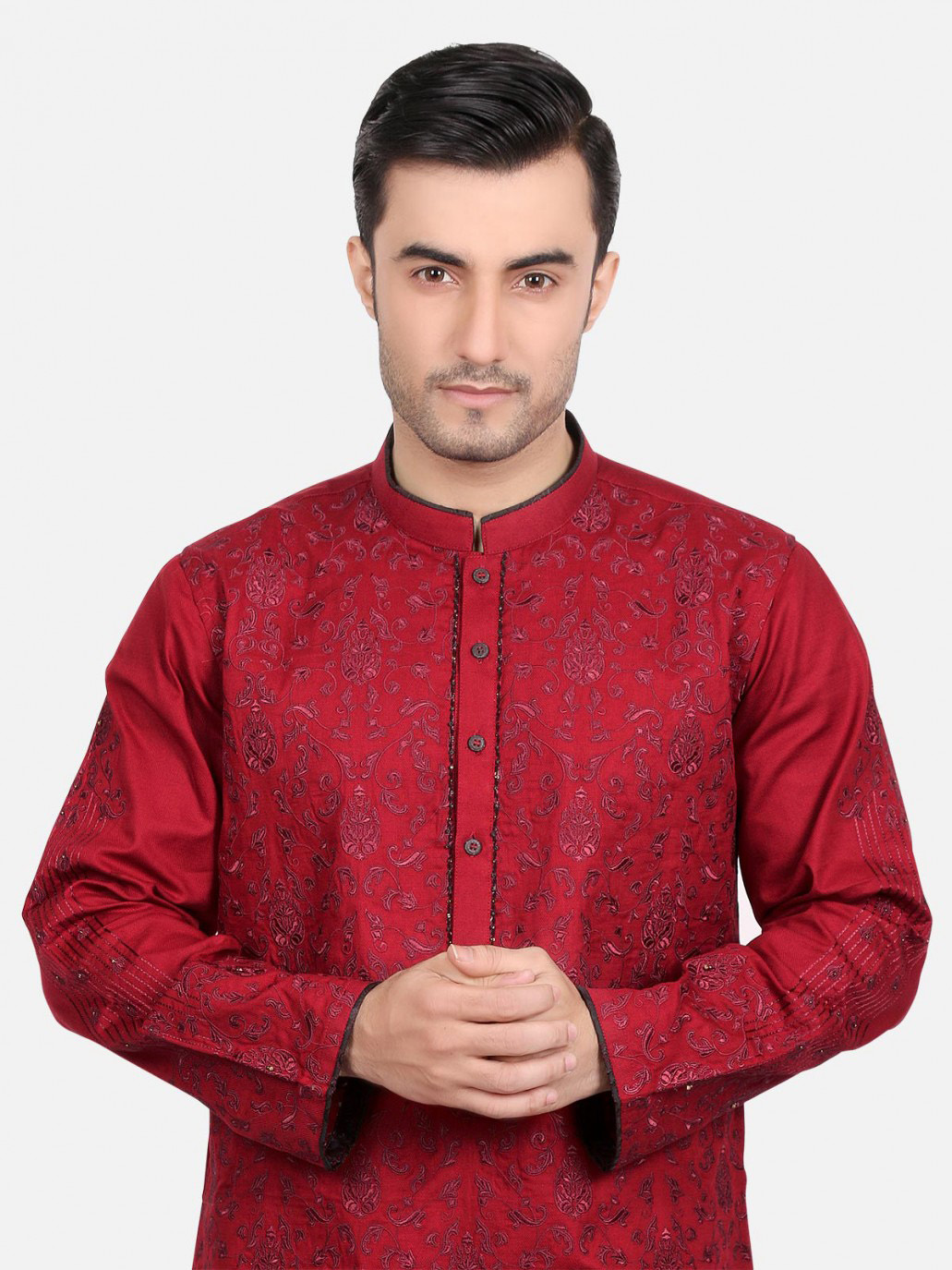 kurta designs 2019 red