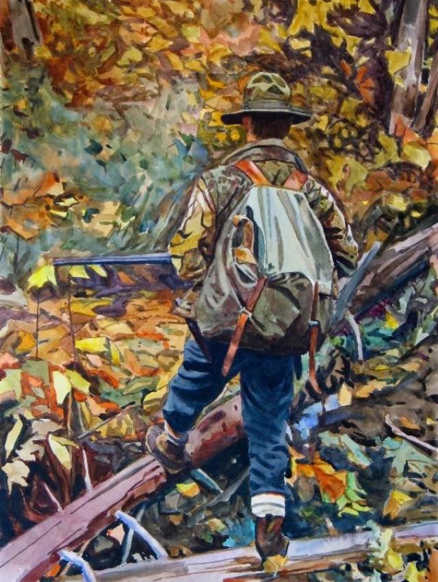 Фигуративная и пейзажная живопись. Michael E. Vermette