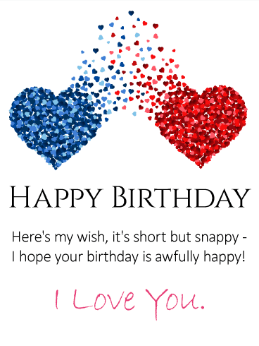 Send this To my Forever Love – Happy Birthday Wishes Card for Husband