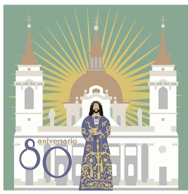 Cartel de la Procesión Extraordinaria de Jesús de Medinaceli (Madrid)