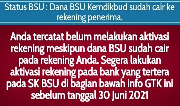 Aktivasi Rekening BSU, Cair Lagi?