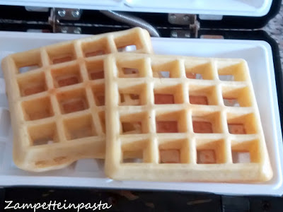 Waffle senza burro - Ricetta dei Waffle
