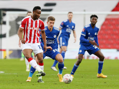 FA Cup: Mikel Suffers Heavy Defeat As Stoke City Crash Out