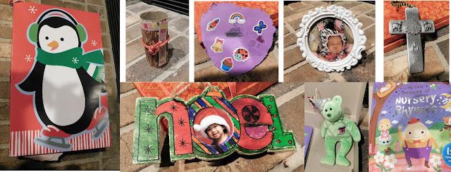 Treasure collage