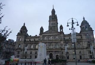 Glasgow City Chambers o Ayuntamiento.