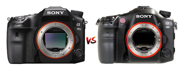 Key Differences Between Sony a99 II and Sony a99