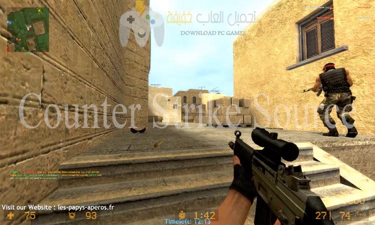 تحميل لعبة كونترا سترايك للكمبيوتر جميع الإصدارات من ميديا فاير