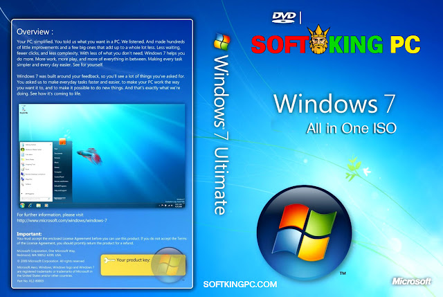 Windows 7 All In One ISO Latest Version Free Download