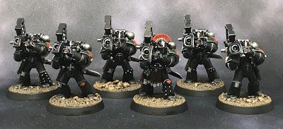 Horus Heresy Dark Angels Heavy Support Squad