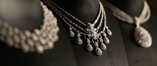 Pure Silver Necklace Set With Price