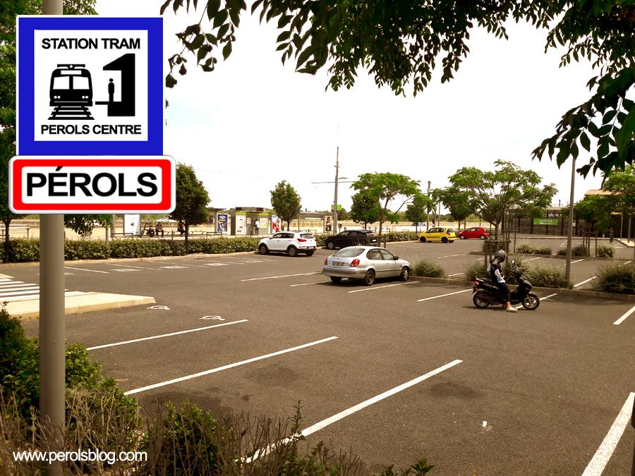 Parking de la station Pérols Centre