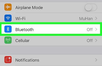 Cara Menghubungkan Headphone Bluethooth di iPhone atau iPad 2