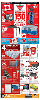 Canadian Tire Canada Flyer June 22 to 29, 2017 - Big Red Weekend