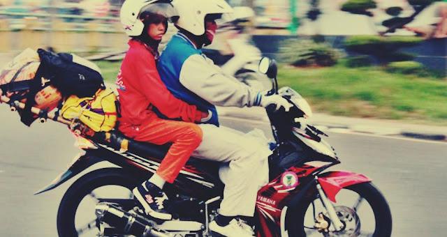 penyakit akibat sering naik motor