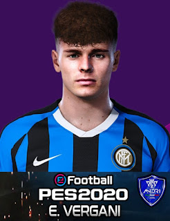PES 2020 Faces Edoardo Vergani by Sofyan Andri