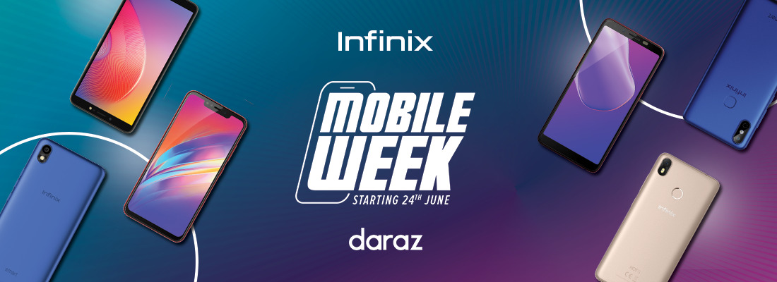 Infinix to launch Hot 6X and amazing discounts during Daraz Mobile Week