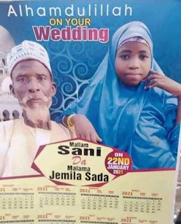 Anger as elderly grandfather weds ''under-aged'' girl