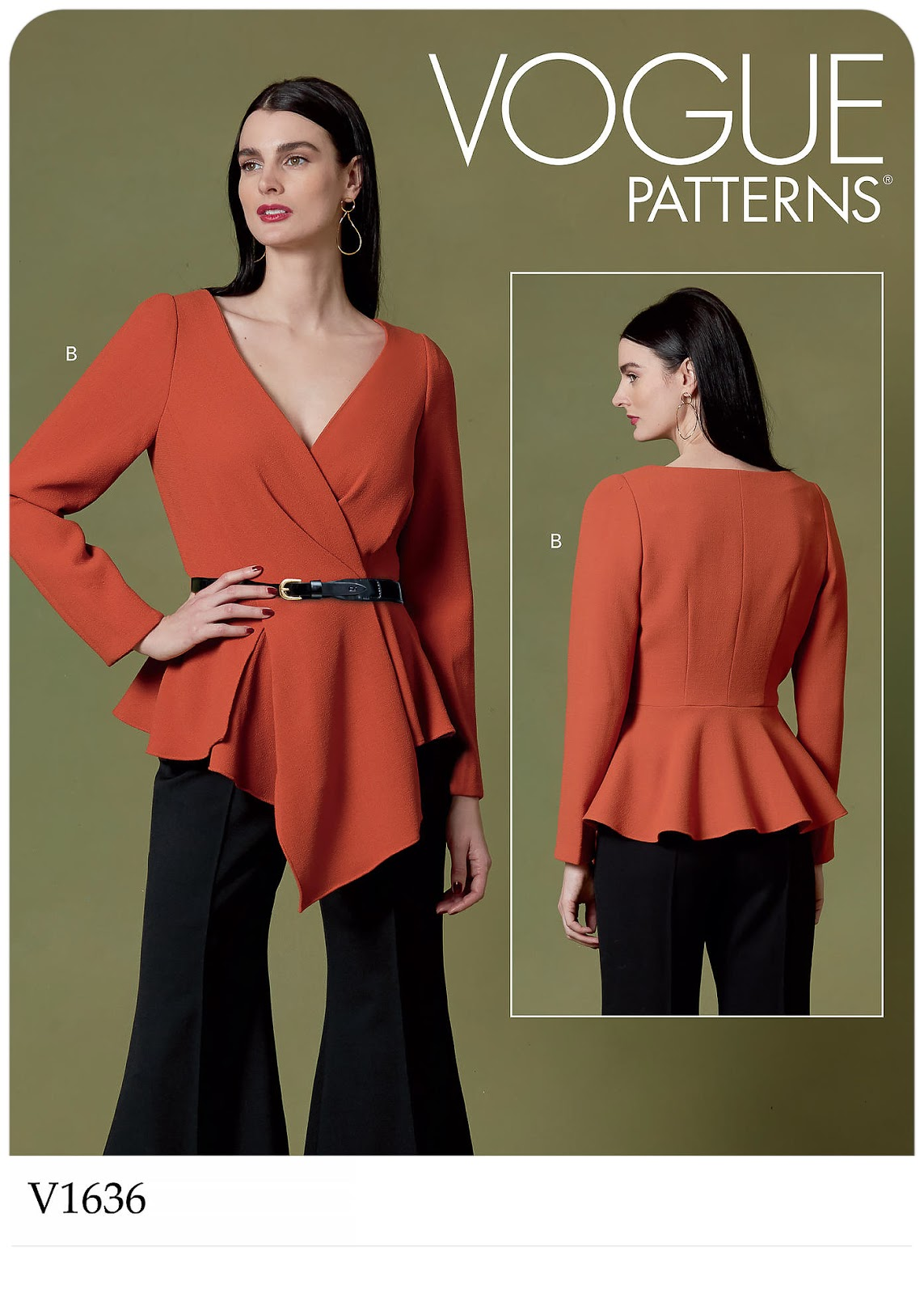 Vogue Patterns 1636 - #V1636