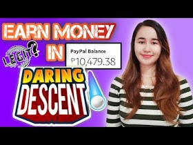 Update: Earn Money in Daring Descent App | With Proof of Payment