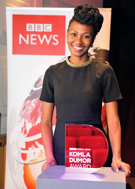BBC Komala Award 2016 winner 2015 Nancy Kacungira