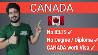 Canada Jobs Apply - No Education - No IELTS - Free Work Visa