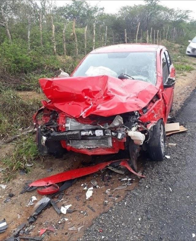 Grave acidente de  trânsito  na PE-270, Proximo a cidade de Buique.