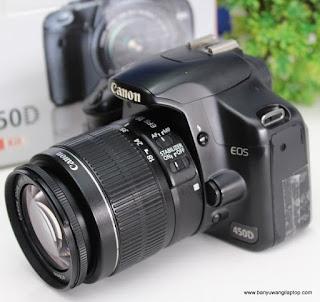 Jual Kamera Dslr Canon EOS 450D - Banyuwangi
